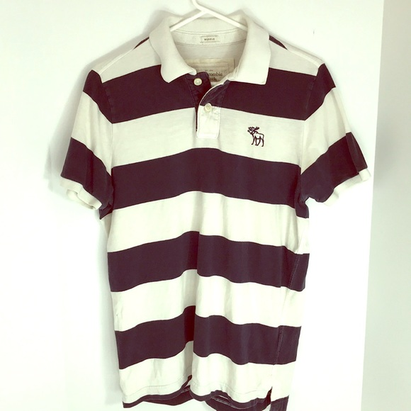 d26957f7bc Abercrombie & Fitch Tops | Abercrombie Fitch Muscle Shirt Polo L ...